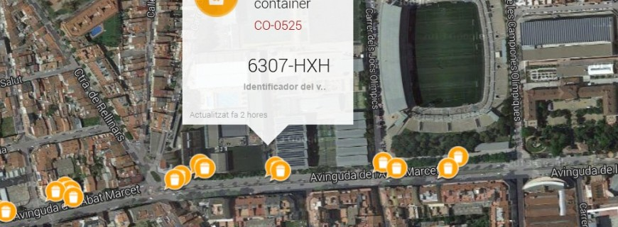 Terrassa uses Sentilo for its smart trash collection project
