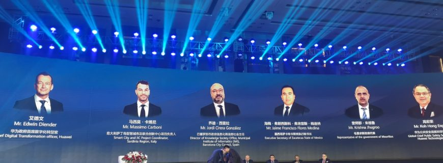 Sentilo in the Shenzhen Smart City Forum 2019