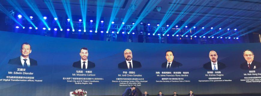 Sentilo in the Shenzhen Smart City Forum 2019